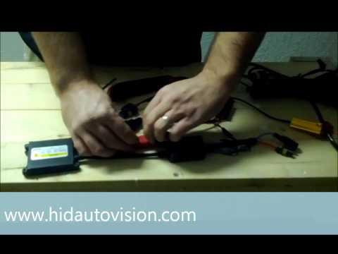 HID Kit Resistor & Capacitor Installation