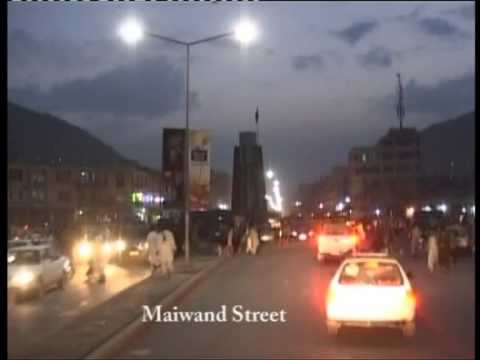 تنویر جاده های کابل - Kabul streets illumination (عبدالحسیب حبیب)