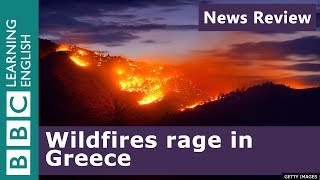 Greece wildfires - at least 24 dead: BBC News Review