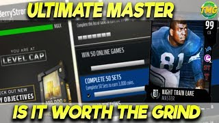IS ULTIMATE MASTER WORTH GRINDING FOR? OR SHOULD YOU JUST BUY HIM!?| MADDEN 18 ULTIMATE TEAM