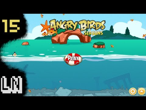 Let s Play Angry Birds Seasons 15 Piglantis