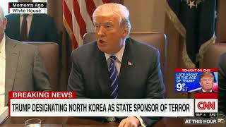 WARNING!! NORTH KOREA ON STATE SPONSORS OF TERRORISM LIST.. SO WHAT NOW?