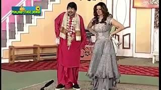 New Best Of Zafri Khan, Sajan Abbas, صائمہ خان | New Pakistani Stage Drama Full Comedy Funny Clip |