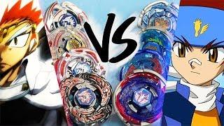 Metal Fight Generations Battle: LDRAGO VS PEGASUS (Ryuga VS Gingka)