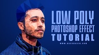 Low Poly Effect tutorial in Photoshop