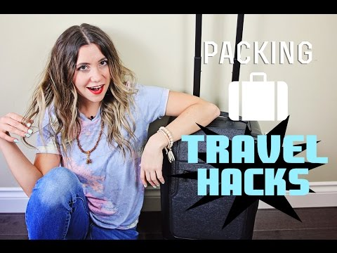 Packing TRAVEL HACKS How To Pack