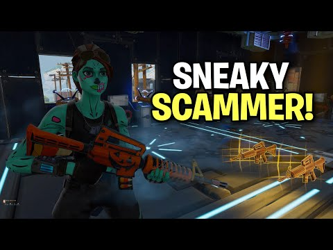 Xxx Mp4 Sneaky Little Scammer Scams Himself 😆 Scammer Get Scammed Fortnite Save The World 3gp Sex