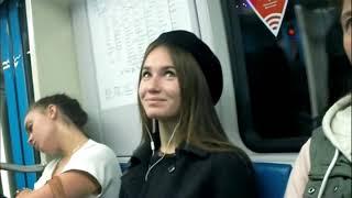 بي_بي_سي_ترندينغ: شاهد ماذا فعلت فتاة روسية بالرجال في مترو الأنفاق