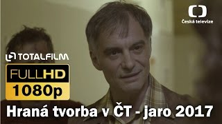 Nové seriály a TV filmy ČT - jaro 2017