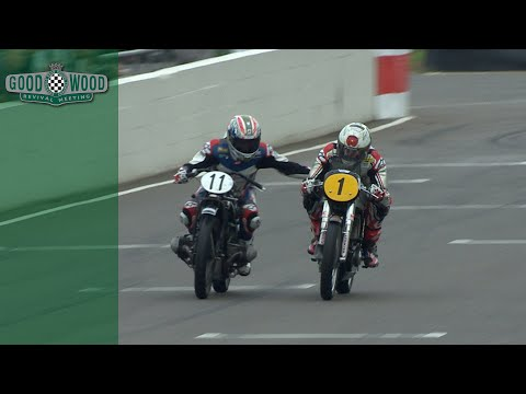 Troy Corser gets cheeky during overtake at Revival