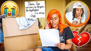 Leaving My Girlfriend With ONLY A Goodbye Letter! 💔