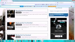 How to download full free games 100% working pc 2015 !!!!!!