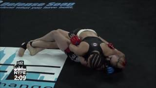 Hot Chick Breaks Female Fighters Leg in the Cage