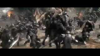 The Hobbit: The Battle of the Five Armies Extended Scene - Thranduil and Dain