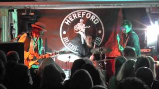 Hereford Blues Club Launch - 13th February 2016 - The Troy Redfern Band