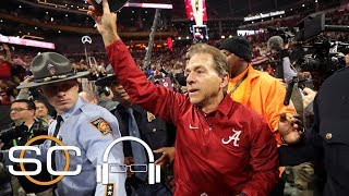 Nick Saban reflects on Alabama's game-winning play | SC with SVP | ESPN