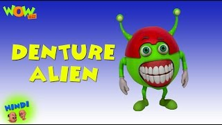 Denture Alien - Motu Patlu in Hindi - 3D Animation Cartoon for Kids -As seen on Nickelodeon