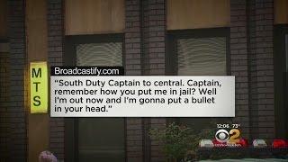 Man Threatens NYPD