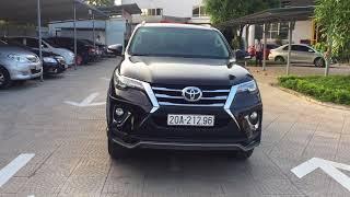khách lái thử xe Fotuner 2017 bá đạo tại Toyota Thái Nguyên