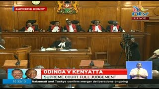 Full Supreme Court judgement of the annulled 2017 Presidential election