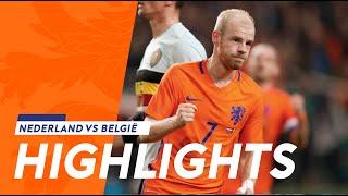 Highlights Nederland - België (9/11/2016)