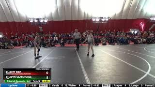 Schoolboy-girl 90 Elliott Biba Sarbacker Wrestling Academy Vs Bradyn Glasspoole LAW