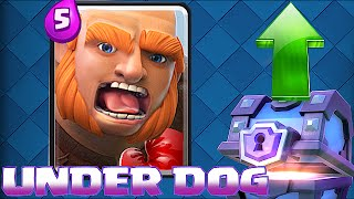 Clash Royale Ep 1 - UNDERDOG SERIES!! (Fighting my way up as a Lvl 3)