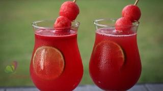 তরমুজের জুস    Watermelon Juice    Tasty Juice Recipe    Bangla Recipe    R# 170