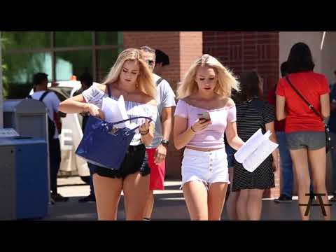 Music Prank on College Girls Try not to laugh while watching this funny videos
