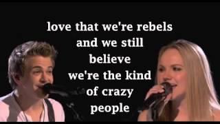 Hunter Hayes and Danielle Bradbery - I Want Crazy Lyrics