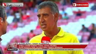 Direto Benfica vs Belenenses