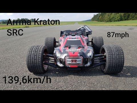 Xxx Mp4 Arrma Kraton Testrun SRC Road Crusher 139 6km H 87mph 6s RC Speedrun 3gp Sex