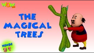 The Magical Trees - Motu Patlu in Hindi - 3D Animation Cartoon for Kids - As on Nickelodeon