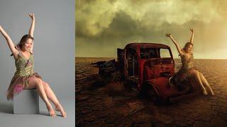 Photoshop CC Tutorials | Photo Manipulation | Girl in desert