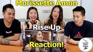 Morissette Amon - Rise Up LIVE On Wish 1075 Bus   Reaction Video - Aussie Asians
