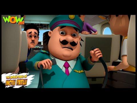 Motu Patlu Air Bus - Motu Patlu in Hindi - 3D Animation Cartoon - As on Nickelodeon