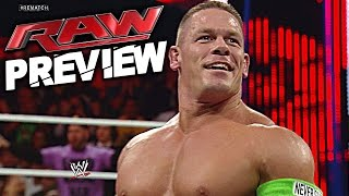 WWE RAW 30 May 2016 PREVIEW, Predictions, News & Rumors