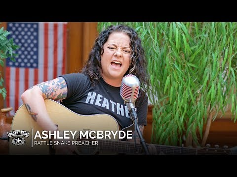 Ashley McBryde - Rattlesnake Preacher (Acoustic)  Country Rebel HQ Session