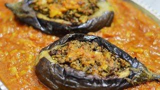 طرز تهیه بادمجان شکم پر (شکم پاره) با روشی بسیار لذیذ و خوشمزه | Bademjan Shekam Por Recipe