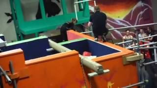 Ninja Warrior - First Round - at Urban Evolution, Alexandria,VA, January 2015