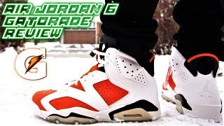 AIR JORDAN 6 GATORADE REVIEW AND ON-FEET (I REGRET BUYING THESE!)
