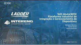 Webinar - Telit deviceWise - Plataforma Industrial de Integração e Gerenciamento de Dispositivos