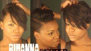 Rihanna Inspired Hair Cut