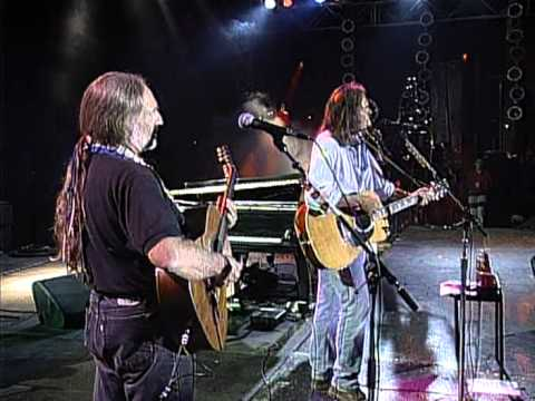 Neil Young - Four Strong Winds (Live at Farm Aid 1995) Video Clip