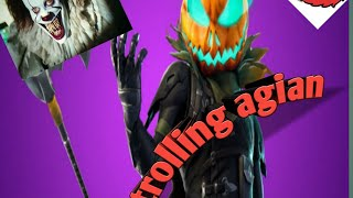 Trolling some poeple on Fortnite with  pennywise and  my friends as Elmo