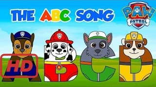 Paw Patrol ABC Song! Best Baby Learning Alphabet for Preschool Children, Toddler Kids Nursery  #EMK