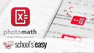 Photomath - Eine App, die für euch rechnet
