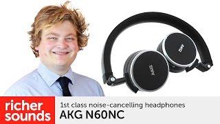 AKG N60NC - noise cancelling headphones   Richer Sounds