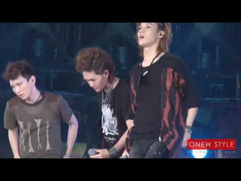 HD FULL FANCAM 100821 SHINee Onew Lucifer SM Town Live 10