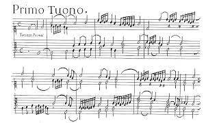 Claudio Merulo, toccata prima (clavichord)